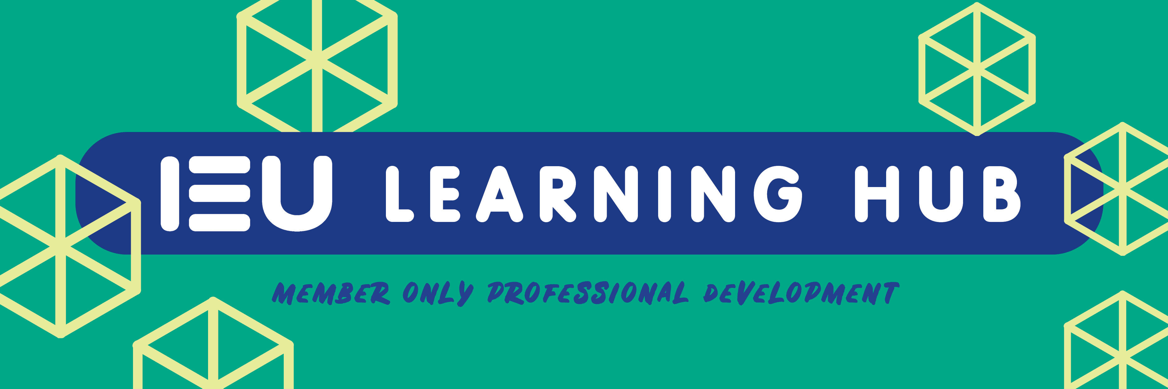 IEU Learning Hub Title Banner